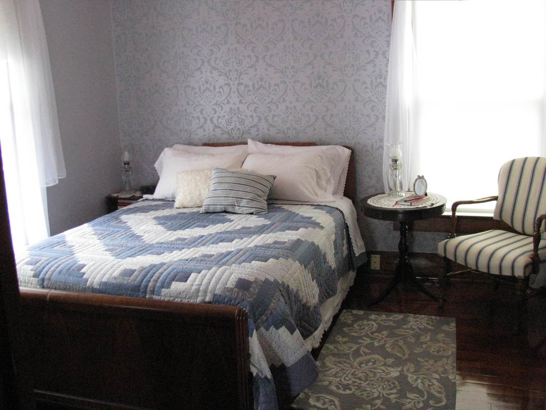 West Liberty guest house bedroom